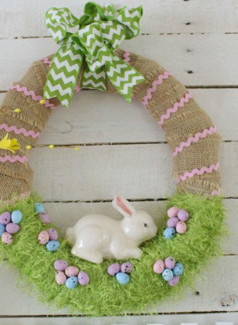 Bunny Wreath 1