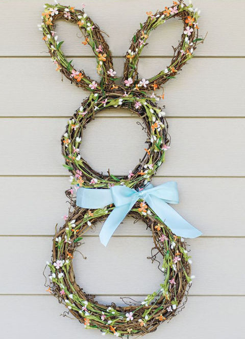 Bunny Wreath 2