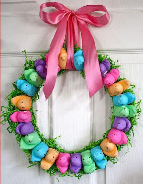 Bunny Wreath 3