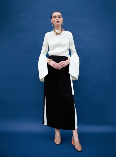 Rejina Pyo Black Skirt