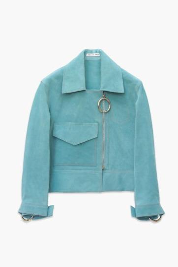 Rejina Pyo Blue Jacket