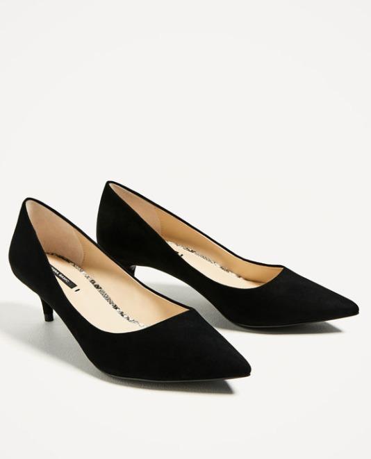 Zara Kitten Heels £29.99