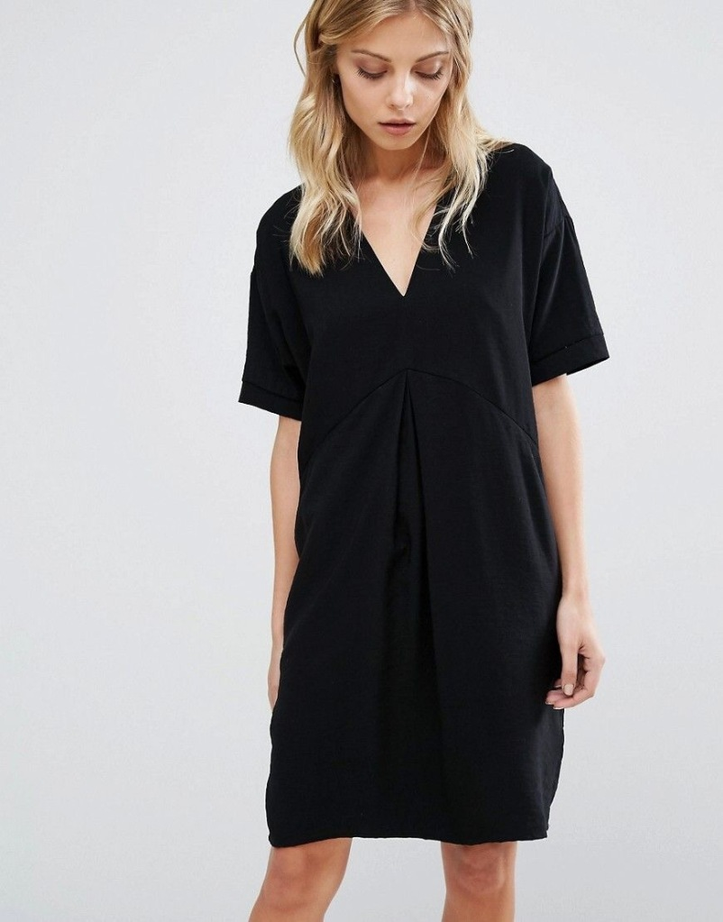 Whistles v neck dress